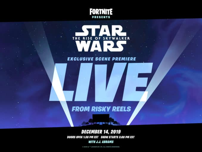 News - Fortnite's Star Wars Live Event with JJ Abrams