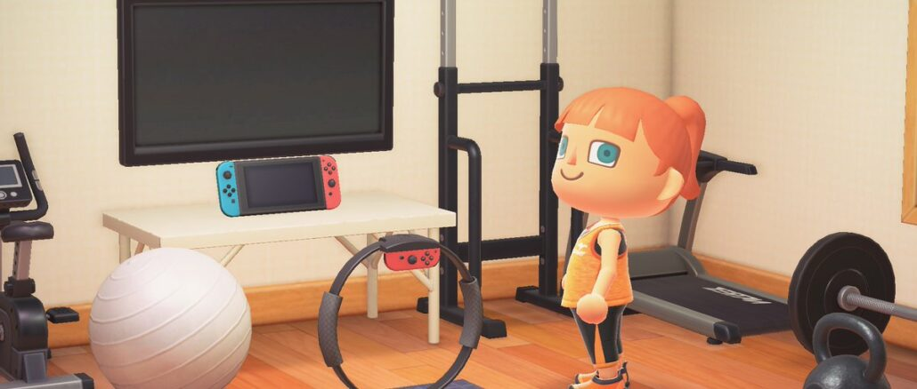 Gratis Ring Con als je de update van Animal Crossing: New Horizons downloadt