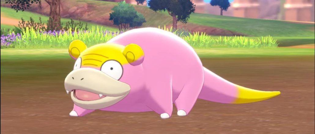 Galarian Slowpoke in Pokemon Sword/Shield