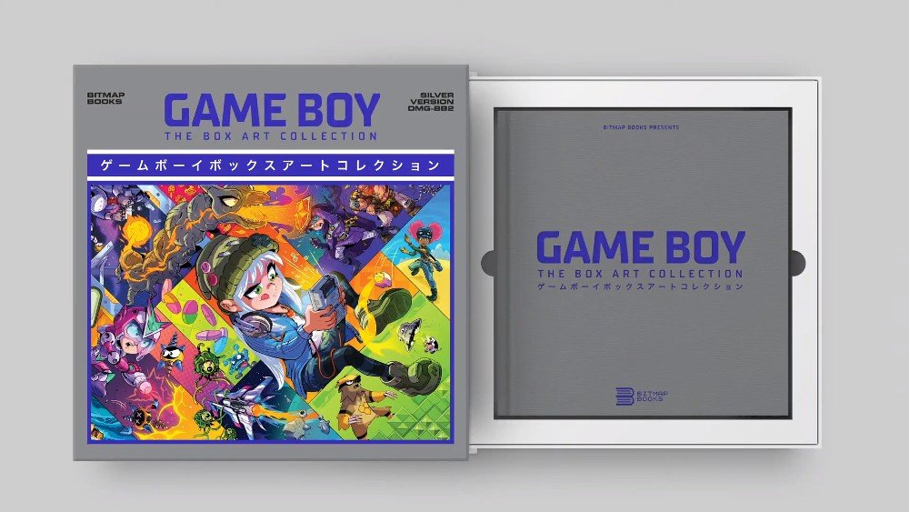Game Boy: The Box Art Collection Book Pre-Orders geopend