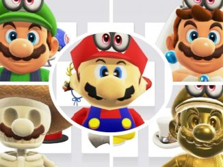 News - Game files for Super Mario Odyssey; Zombie, Link, Santa Outfits