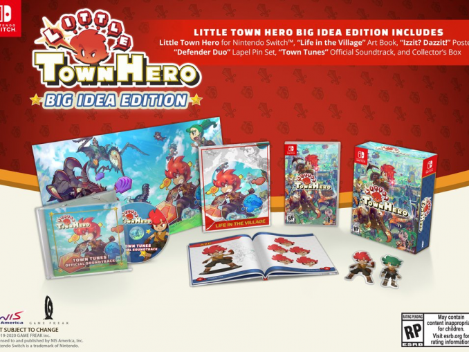 Nieuws - Game Freak's Little Town Hero: Big Idea Edition vertraagd