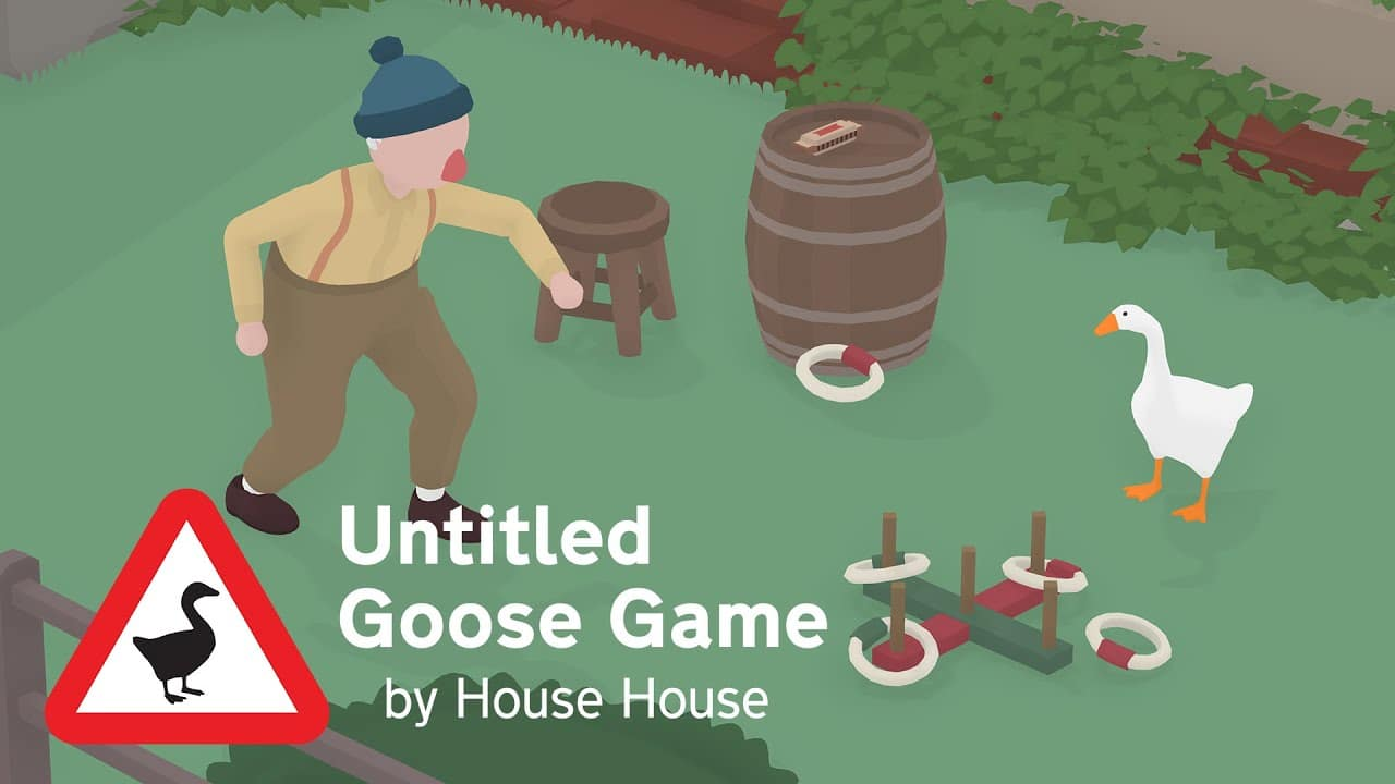 Game Of The Year – Australische Game Developer Awards 2019 – Untitled Goose Game
