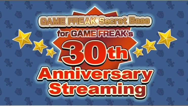 Gamefreak announces 30th Anniversary Livestream for October 16
