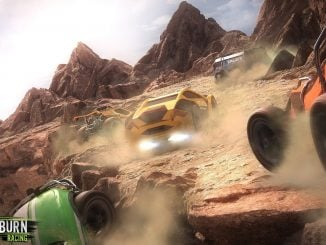 Gameplay Mantis Burn Racing