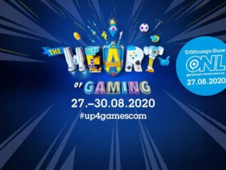 Gamescom 2020 digital event 27th August to 30th