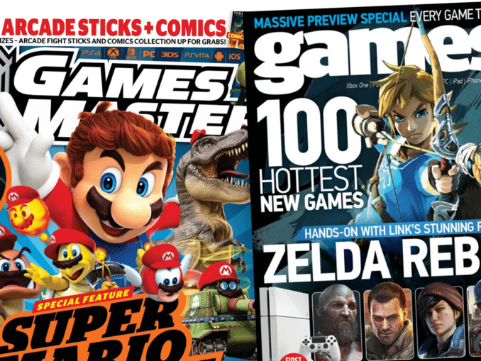 News - GamesTM and GamesMaster shutting down