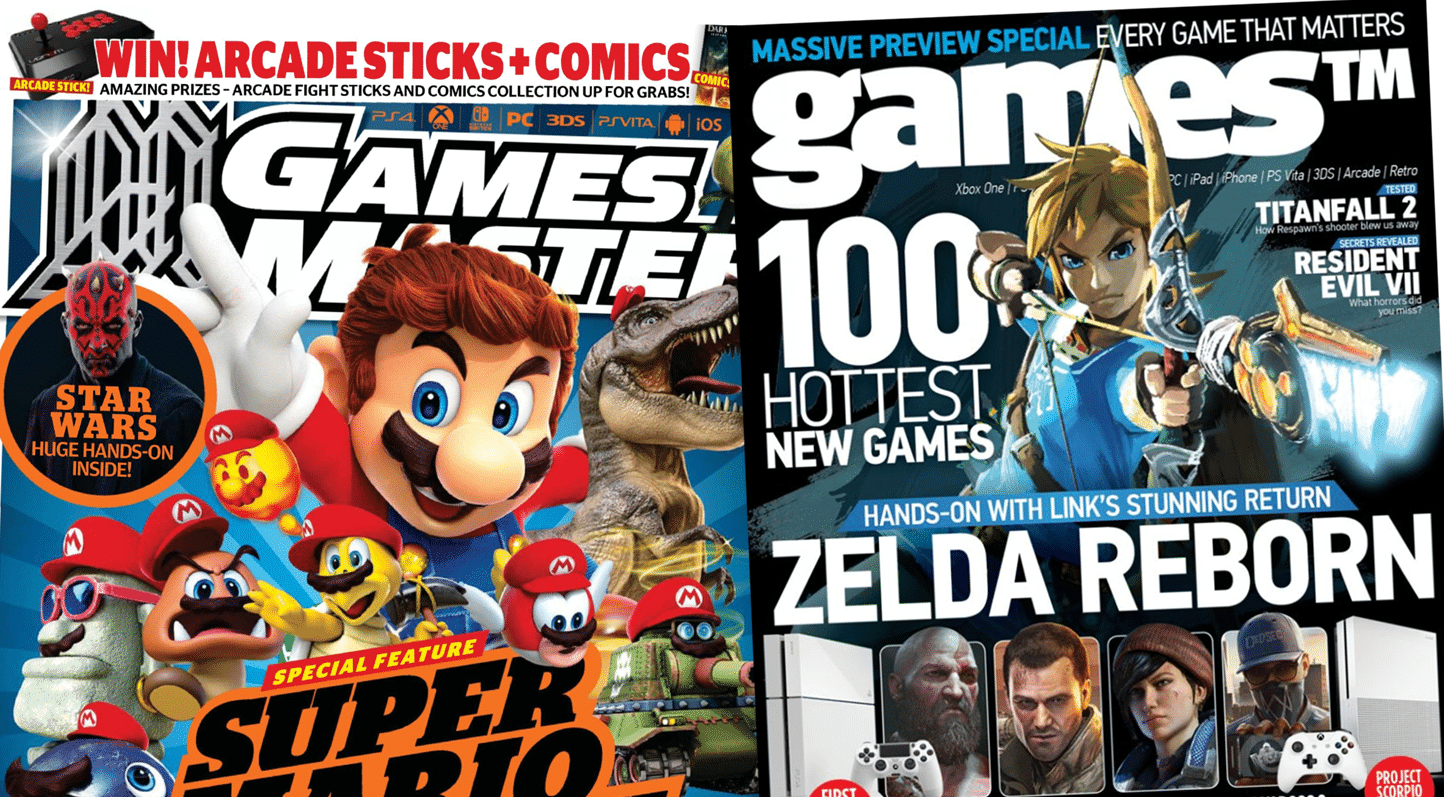 GamesTM and GamesMaster shutting down