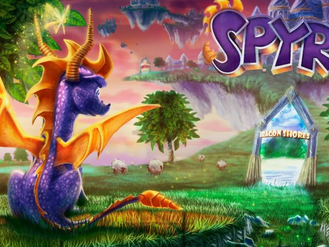 News - GameStop Germany listed Spyro Reignited Trilogy