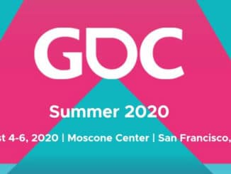 GDC Summer announced for August 2020