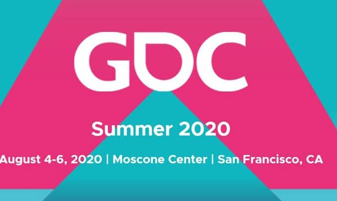 News - GDC Summer announced for August 2020