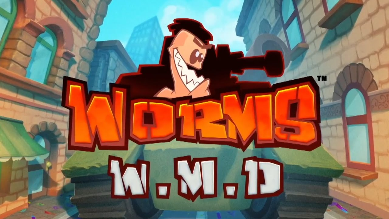 No physical version of Worms W.M.D.