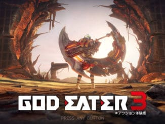 God Eater 3 coming July 12th