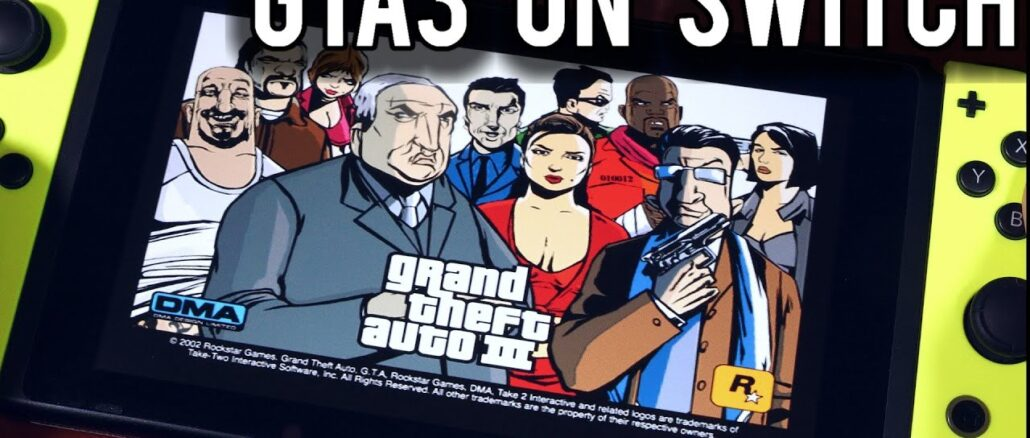 Grand Theft Auto III werkt middels homebrew