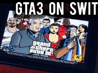 Grand Theft Auto III is running through homebrew