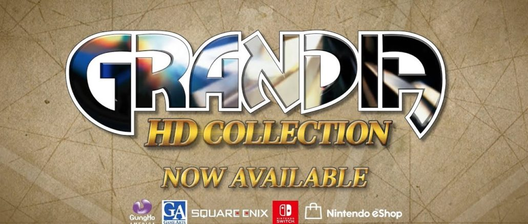 Grandia HD Collection – Launch Trailer