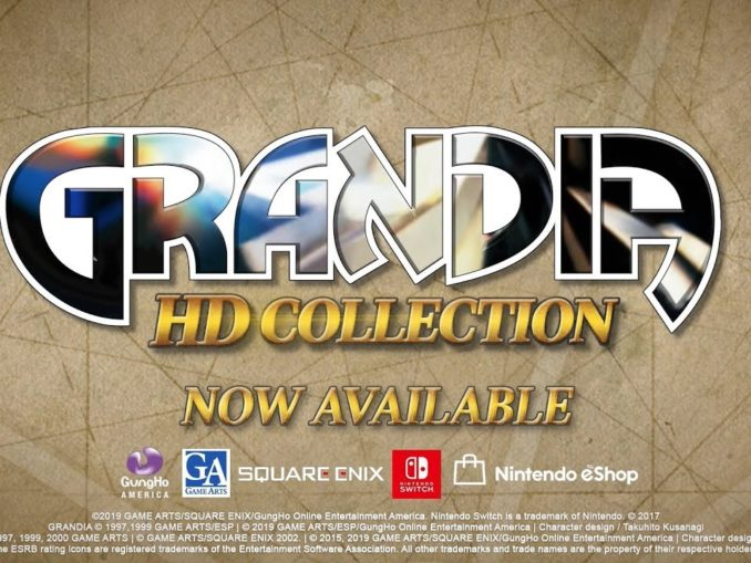 Nieuws - Grandia HD Collection – Launch Trailer