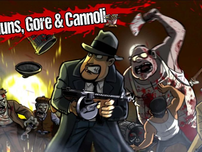 News - Guns, Gore & Canolli this month