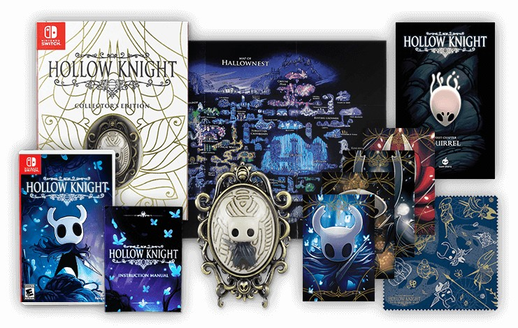 Hollow Knight Standard & Collector's Edition at Fangamer