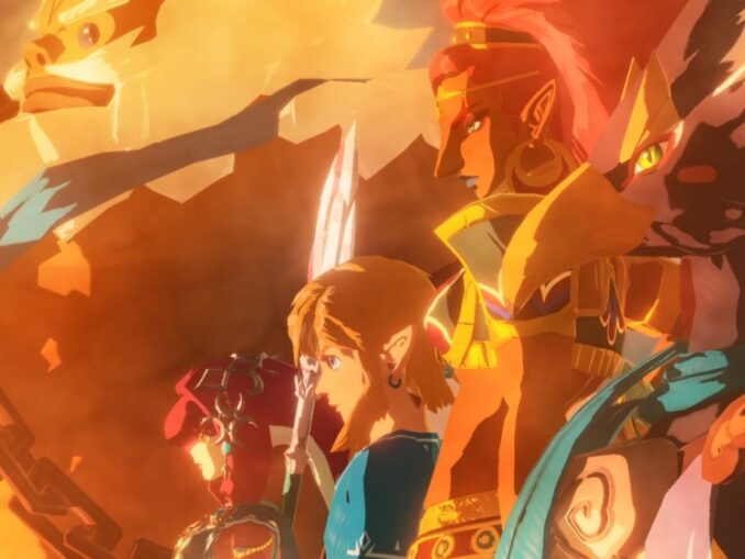 Nieuws - Hyrule Warriors: Age Of Calamity – Champions Unite Trailer