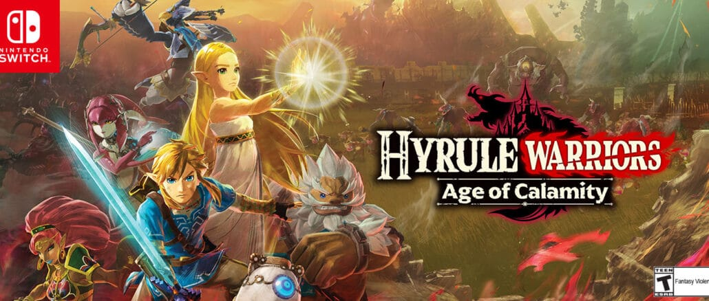 Hyrule Warriors: Age Of Calamity – Speelbare personages Datamine