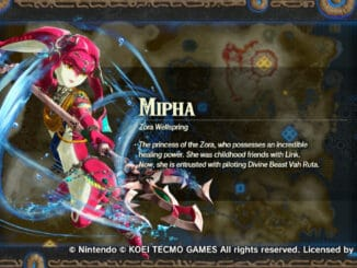 Hyrule Warriors: Age of Calamity – The Champion Mipha teaser muziek