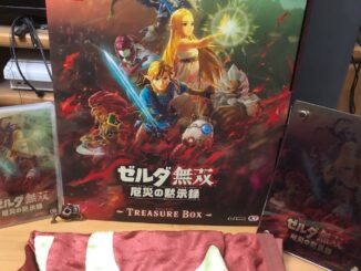 Hyrule Warriors: Age Of Calamity's Japanse Special Edition Unboxing