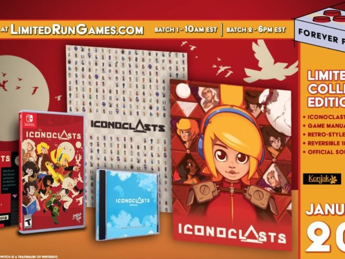 Iconoclasts Limited Collector's Edition