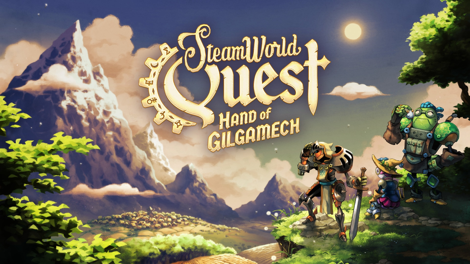 Image & Form Games introduce heroes of SteamWorld Quest