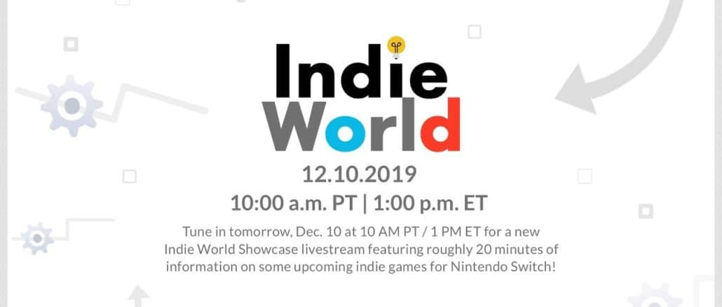 Indie World Showcase – December 10th 19:00