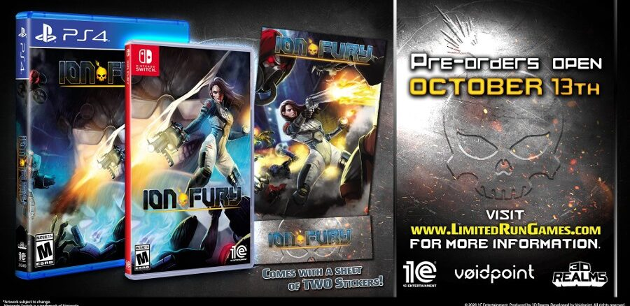 Ion Fury Limited Run Games fysieke release, Pre-Order op 13  Oktober