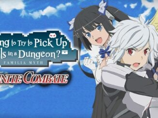 Release - Is It Wrong to Try to Pick Up Girls in a Dungeon? Familia Myth Infinite Combate
