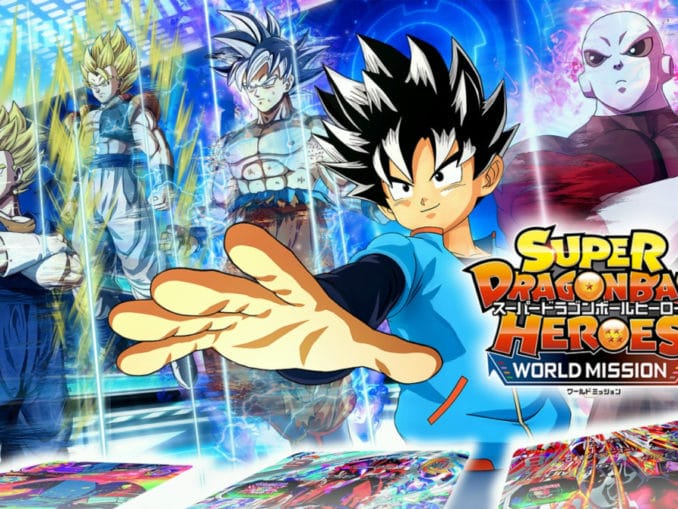 News - Super Dragon Ball Heroes: World Mission Jump Festa Trailer