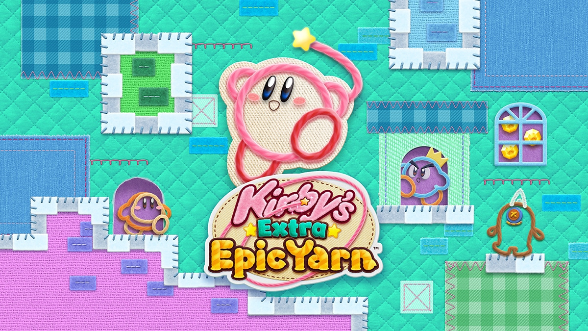 Japanse Kirby's Extra Epic Yarn Trailer