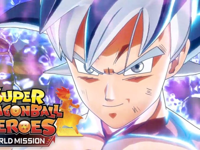 Nieuws - Japanse Launch Trailer – Super Dragon Ball Heroes World Mission
