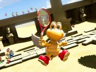 News - Japanse Mario Tennis Aces Koopa Paratroopa Trailer