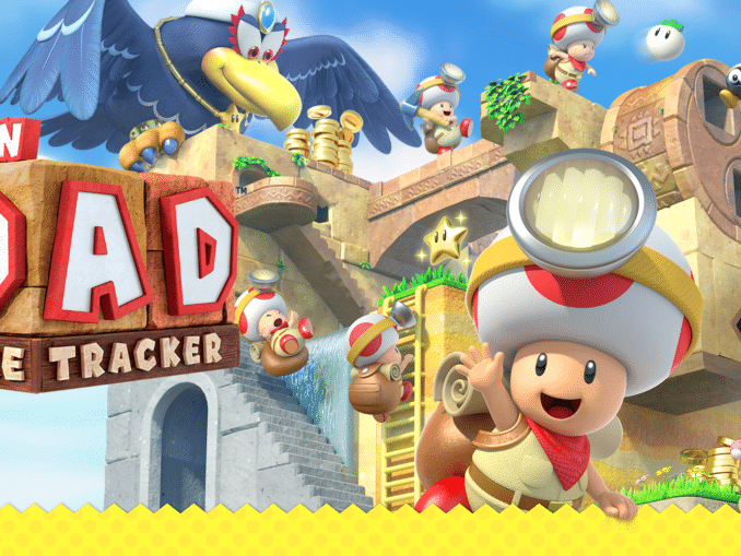 News - Japanese trailer Captain Toad