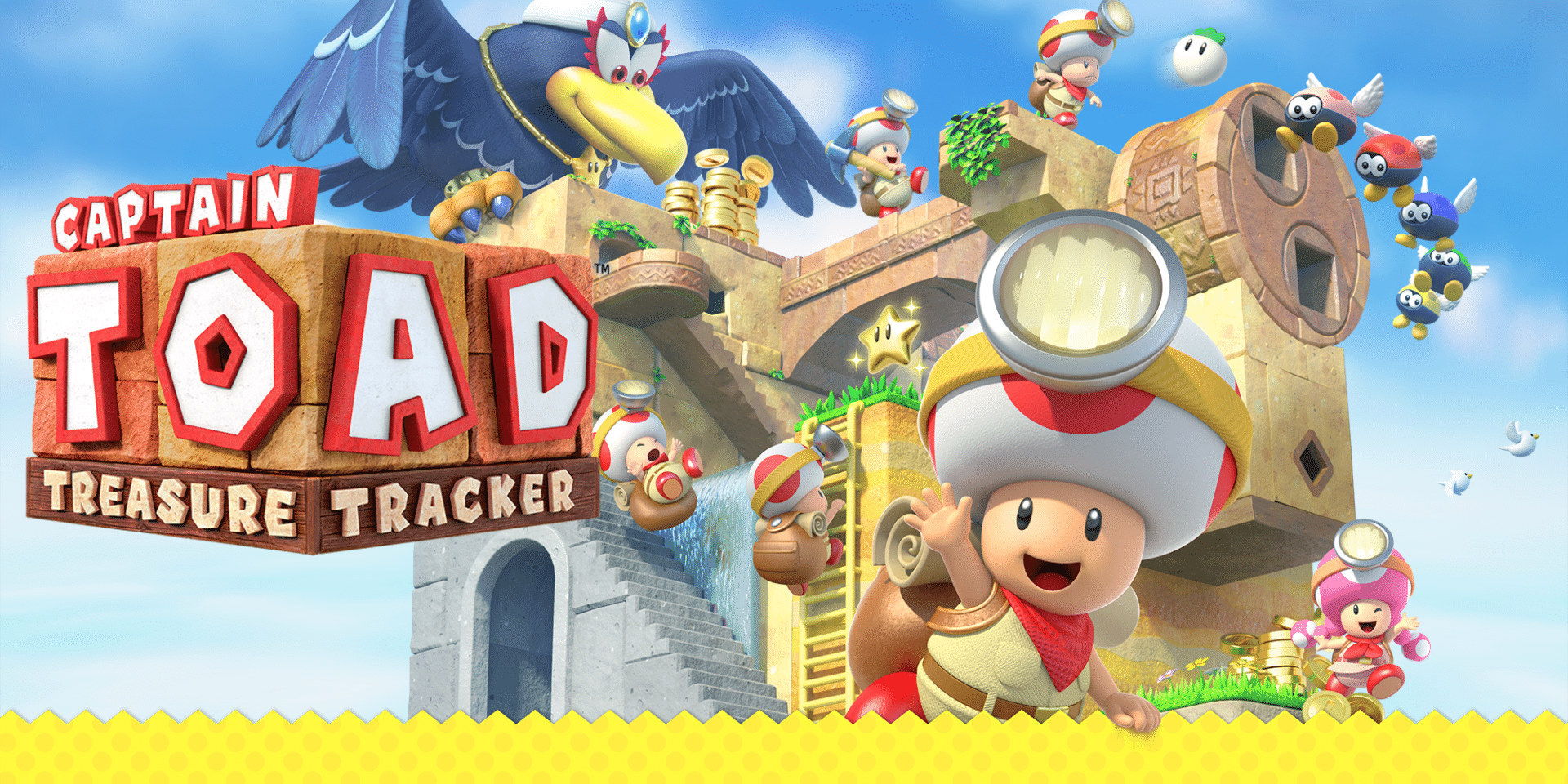 Japanse trailer Captain Toad
