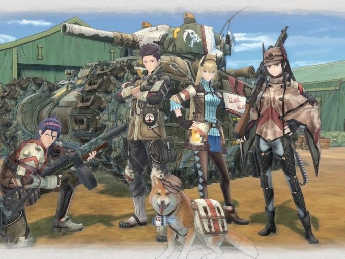 Nieuws - Japanse trailer Valkyria Chronicles 4