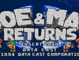 Johnny Turbo's Arcade: Joe and Mac Returns