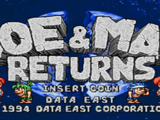 Release - Johnny Turbo's Arcade: Joe and Mac Returns