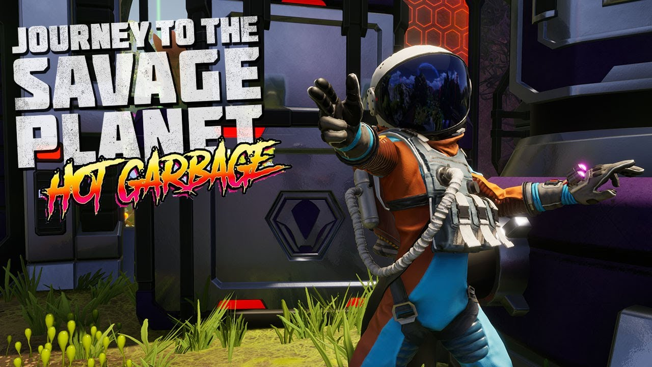 Journey To The Savage Planet – Hot Garbage Paid DLC Available