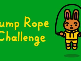 Jump Rope Challenge is for working from home, free on eShop