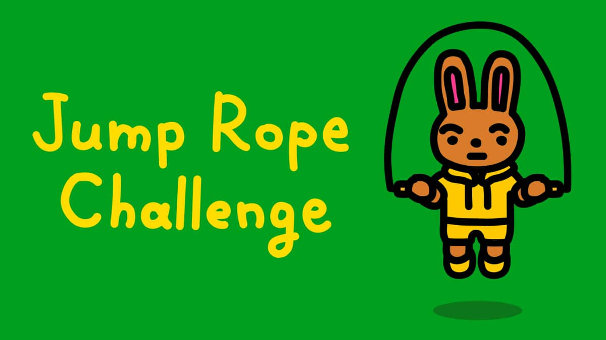 Jump Rope Challenge is for working from home, free oneShop