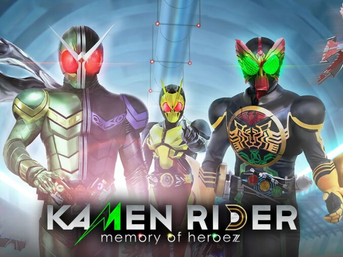 Nieuws - Kamen Rider Memory Of Heroez Gameplay Trailer