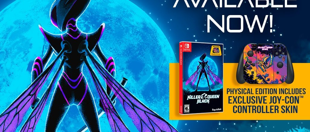 Killer Queen Black Physical Edition available