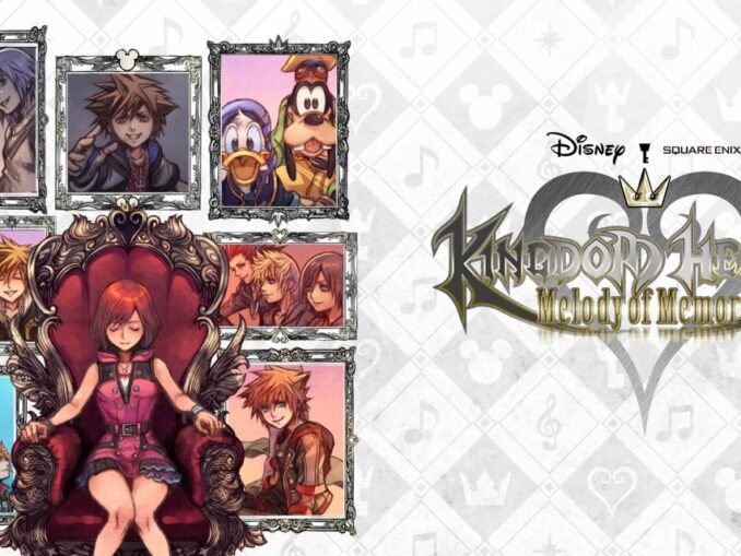 Release - KINGDOM HEARTS Melody of Memory