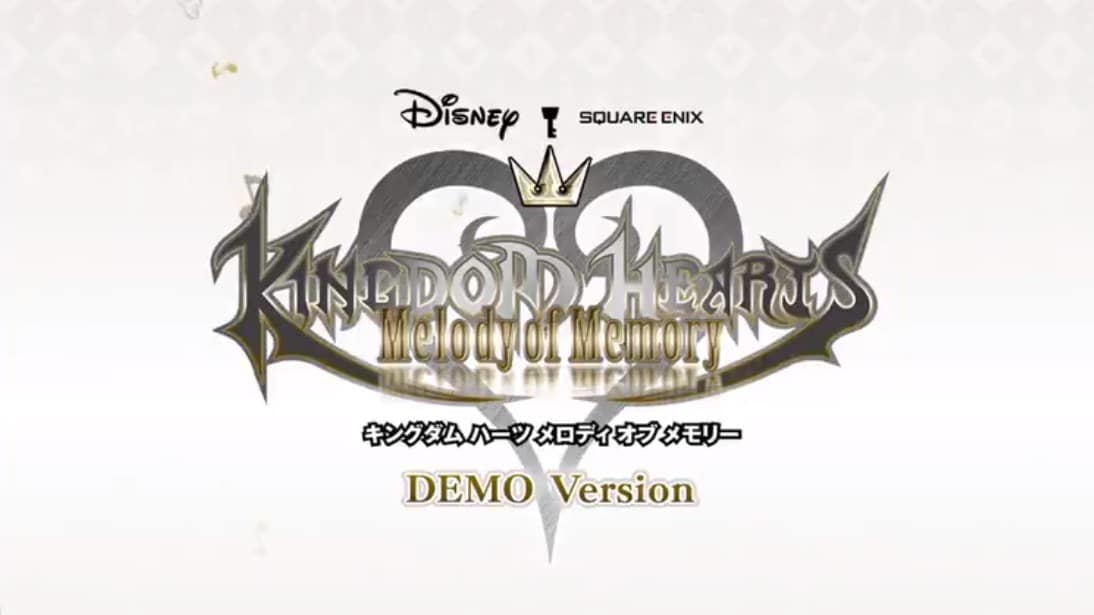 Kingdom Hearts: Melody Of Memory – Gratis demo gelanceerd
