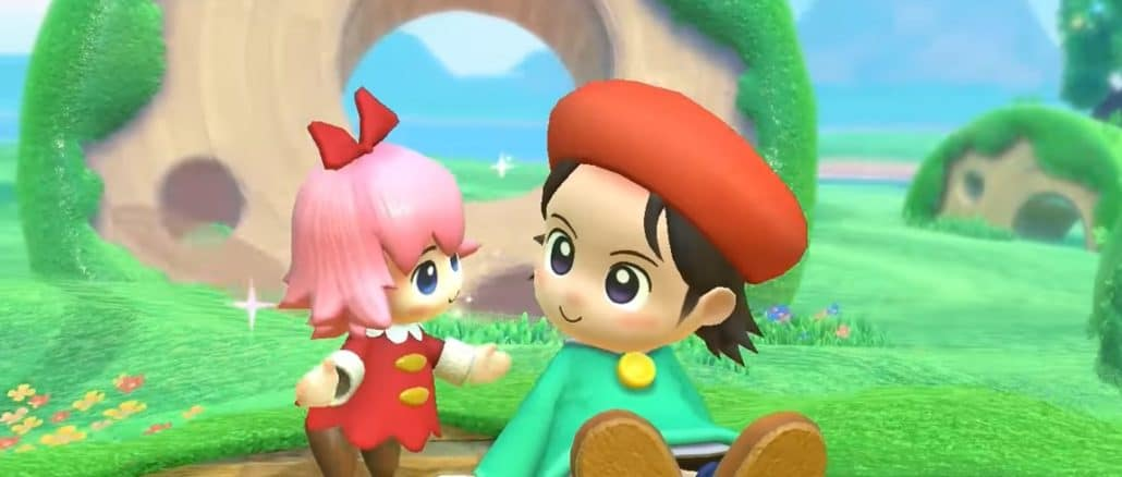Kirby Star Allies – Adeleine & Ribbon trailer