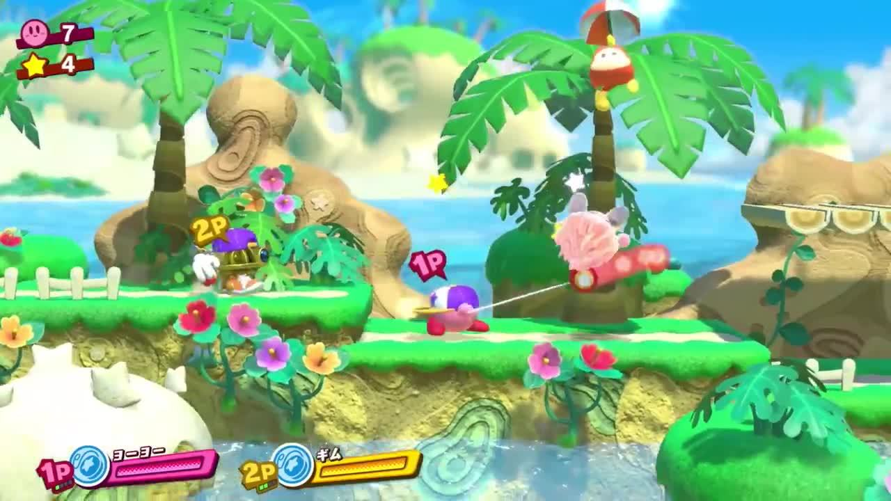 Kirby Star Allies – nieuwe footage